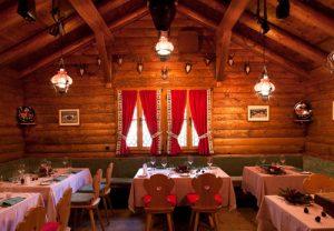 Chateau Waldhaus Swiss restaurant