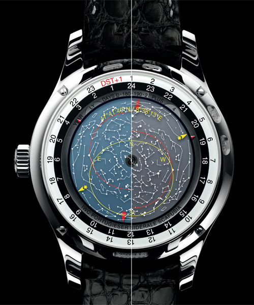 Atelier Star Power IWCs Portuguese Sidérale Scafusia - Star map watch
