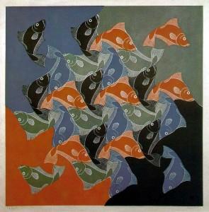 M. C. Escher's Fish