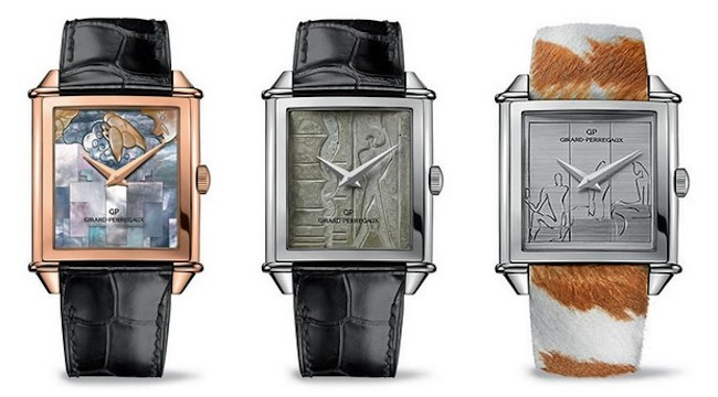 Girard-Perregaux Builds A Le Corbusier Watch Trilogy