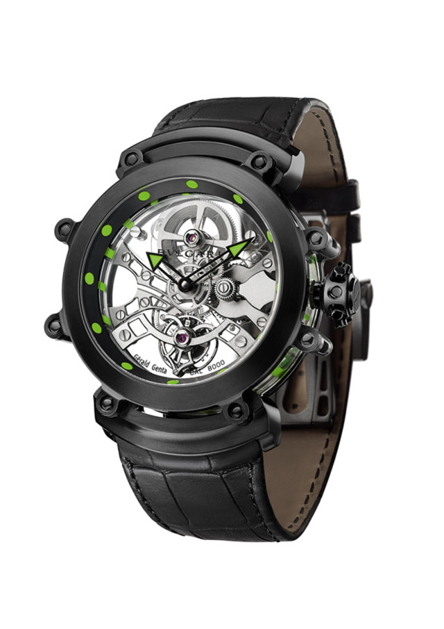 Bulgari Lights Up Its Tourbillon Sapphir Ultranero