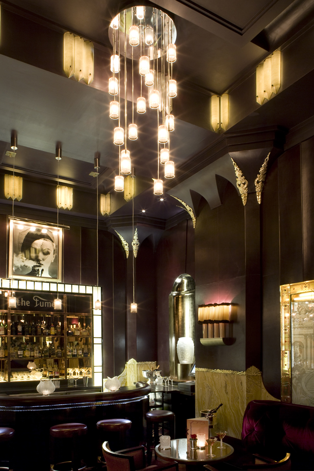The Fumoir at Claridge's oozes retro mystique.