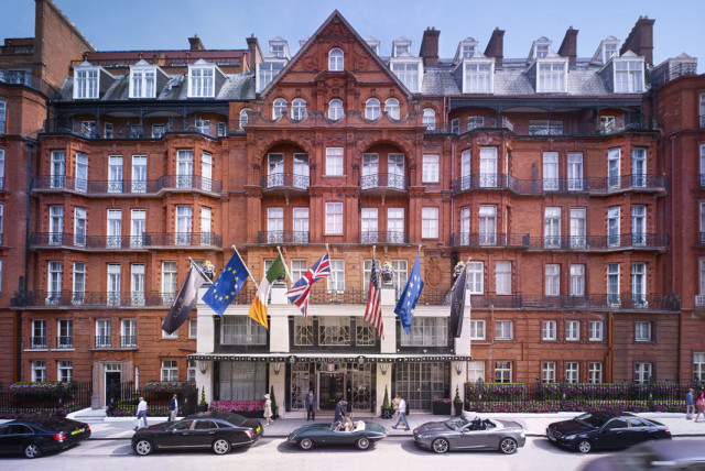 Claridge's fuses history with high glamour as the Connaught's bold, big sister hotel.