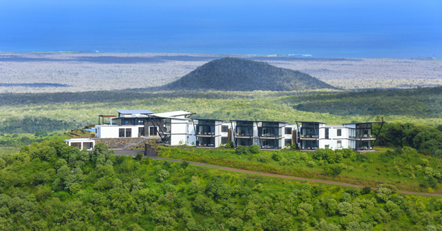 Pikaia Lodge in the Galapagos Islands.